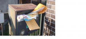 空き家管理 郵便物
