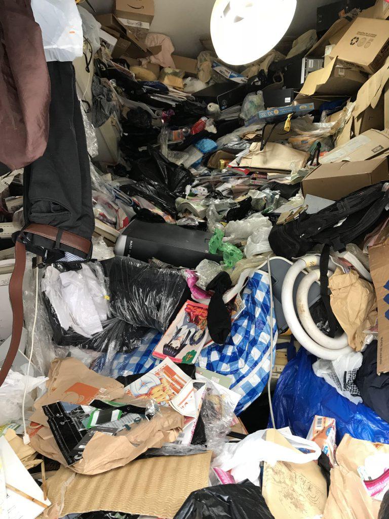 板橋区のゴミ屋敷化した部屋