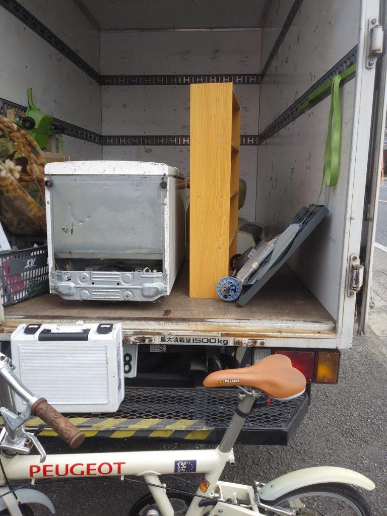 冷蔵庫、自転車、ソファー処分